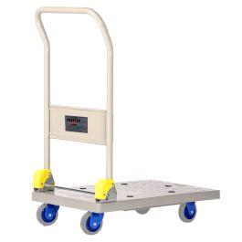 Prestar foldable plastic platform trolley, load capacity 150 kg