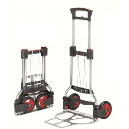 RuXXac Exclusive folding hand truck, load capacity 125 kg