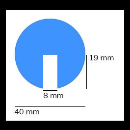 Bumper, model 2 - 1 meter