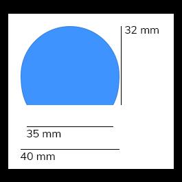 Bumper, model 3 - 1 meter