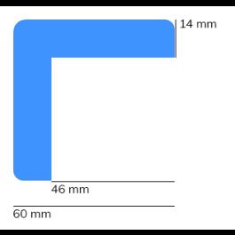 Bumper, model 8 - 1 meter