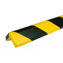 PRS bumper for corners, model 7 - yellow/black - 1 meter
