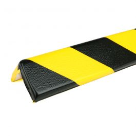 PRS bumper for corners, model 8 - yellow/black - 1 meter