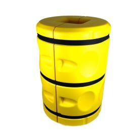 Stackable column guard — 20x20 cm — 90 cm tall