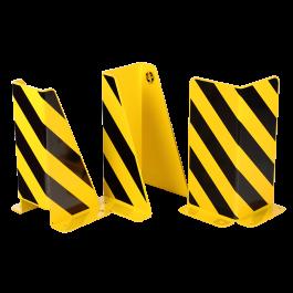 Crash protection guards for racks