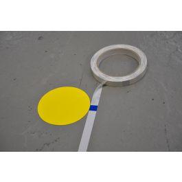 Measuring tape for applying floor marking