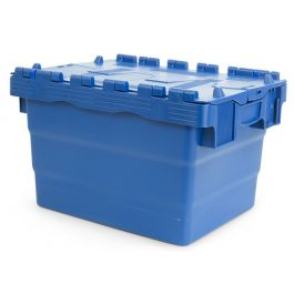 Attached lid container 300x400x250 mm