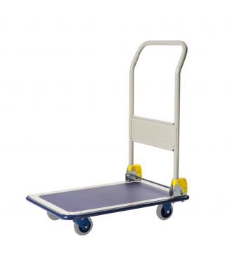 Prestar foldable steel platform trolley, load capacity 150 kg