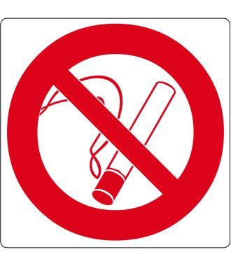 "Floor pictogram for ""No Smoking"""