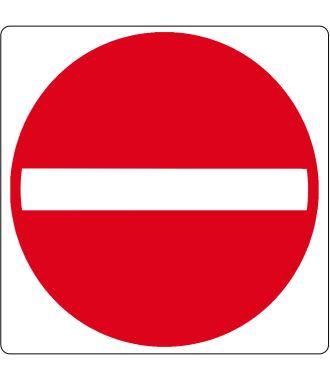 "Floor pictogram for ""No entrance"""