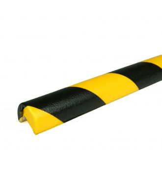PRS bumper for corners, model 1 - yellow/black - 1 meter