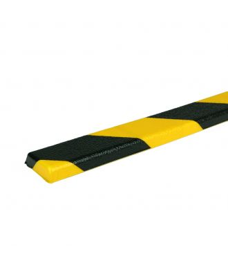 PRS bumper for flat surfaces, model 44 - yellow/black - 1 meter