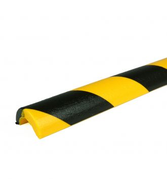 PRS bumper for pipes, model 5 - yellow/black - 1 meter