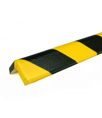 PRS bumper for corners, model 7 - yellow/black - 1 meter