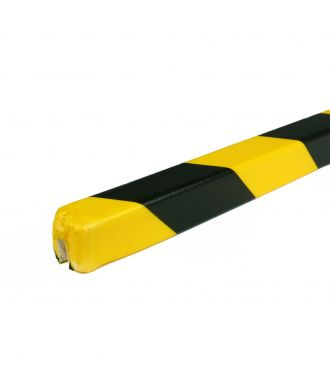 PRS bumper for edges, model 9 - yellow/black - 1 meter