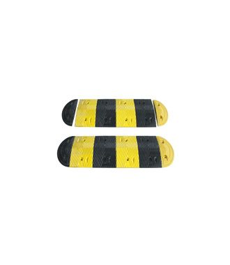 Rubber speed bump 2.35 m x 350 mm x 45 mm