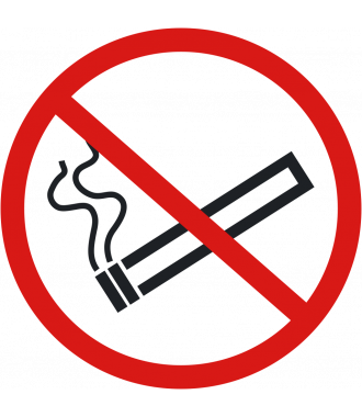 "Anti-slip floor pictogram: ""No Smoking"""