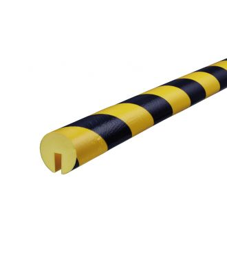 Knuffi bumper for edges type B - yellow/black - 5 meter