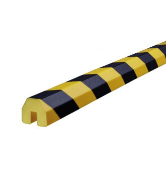 Knuffi bumper for edges type BB - yellow/black - 5 meter