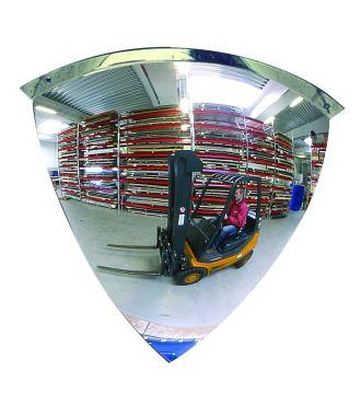 Convex mirror 90°