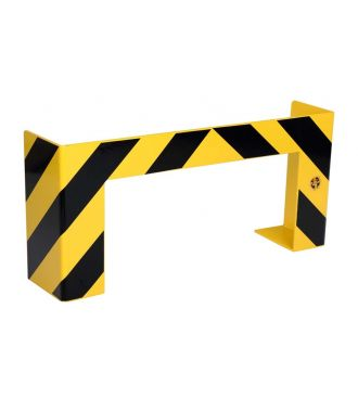 Collision guard for long pallets