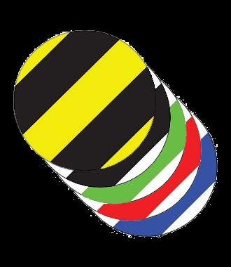 Dot - Hazard Stripes