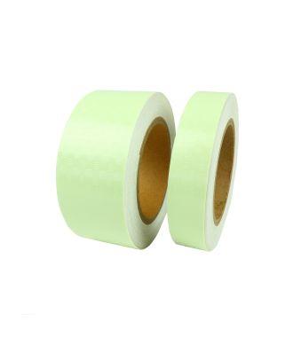 Lumi tape, glow-in-the-dark, anti-slip tape (with diamond plate texture)