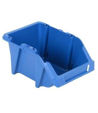 Plastic storage bin 125x195x90 mm