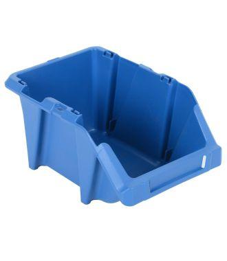 Plastic storage bin 153x244x123 mm