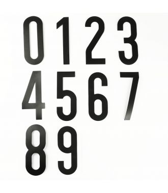 Magnetic number set (0 to 9)