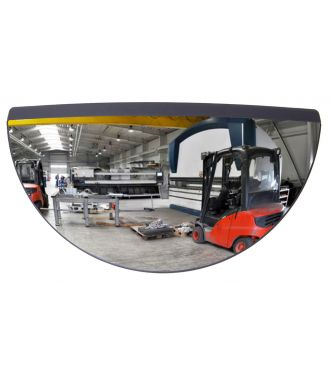Rear-view mirror for forklifts