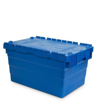 Attached lid container 400x600x320 mm