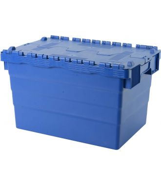 Attached lid container 400x600x365 mm