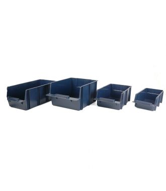 Raaco shelf bin set