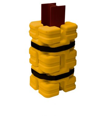 Column Sentry FIT plastic column protector