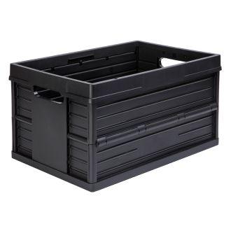Evo Box collapsible crate - 46 liter, black