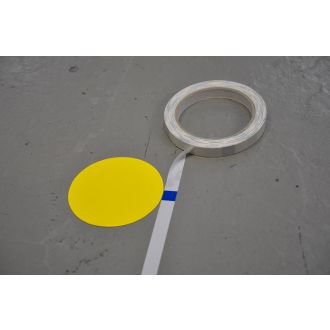 Measuring tape for applying floor marking